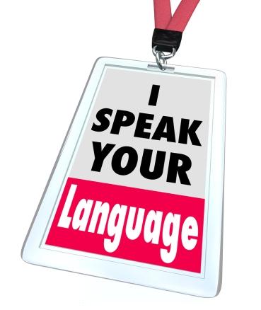 I Speak Your Language Badge Translator Service
